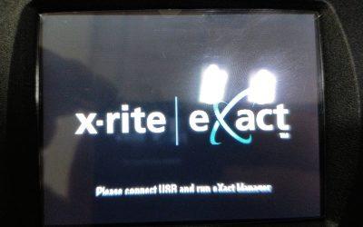 如果遇到这个故障,刷新下系统即可!(Please connect USB and run eXact Manager)